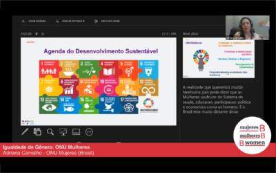 Webinar Portuguese – Gender equality: UN Women