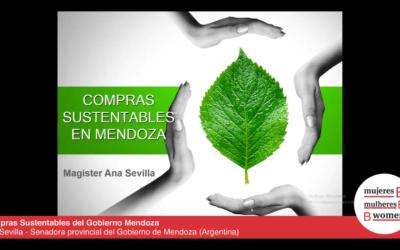 Webinar – Compras/Licitación Pública Sustentables del Gobierno Mendoza, la nueva ley y aplicación