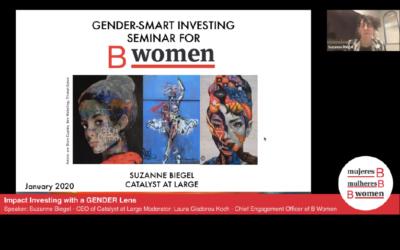 Webinar – Impact Investing with a GENDER Lens