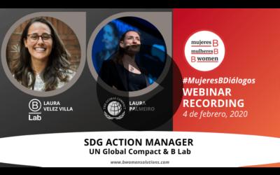 Webinar – SDG ACTION MANAGER