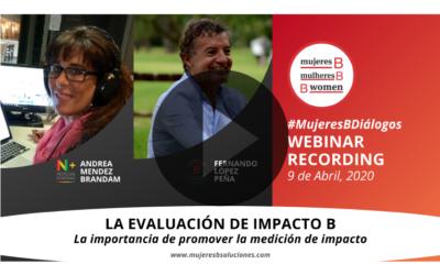 Webinar – La Evaluación de Impacto B y la importancia de promover la medición de impactos