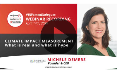 Webinar – Climate Impact Measurement: what is real and what is hype