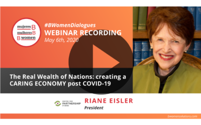 Webinar – The Real Wealth of Nations: creating a CARING ECONOMY post COVID-19