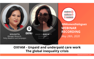 Webinar – Unpaid and underpaid care work: the global inequality crisis
