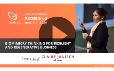 Recording #bwsWEBINAR |  Biomimicry Thinking for Resilient and Regenerative Business