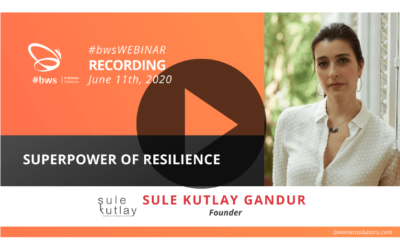 Recording #bwsWEBINAR | Superpower of Resilience