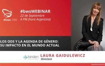 Grabación #w4sWEBINAR |  Los ODS y la agenda de género: su impacto en el mundo actual