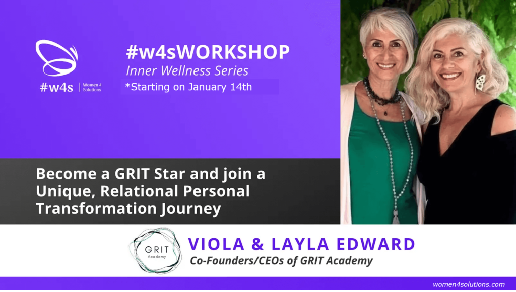 Become a GRIT Star and join a Unique, Relational Personal Transformation Journey (EN)