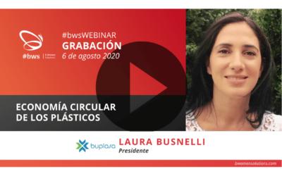 Grabación #bwsWEBINAR | Economía circular de los plásticos