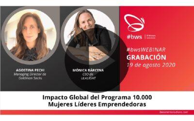 Grabación #bwsWEBINAR | Impacto Global del Programa 10,000 Mujeres Líderes Emprendedoras
