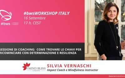 WORKSHOP ITALIANO – Sessione di Coaching:  Come trovare le chiavi per ricominciare con determinazione e resilienza (IT)