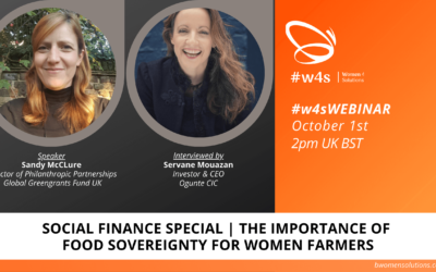 Social Finance | The importance of food sovereignty for women farmers (EN)