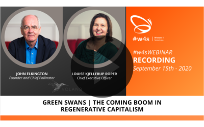Recording #w4sWEBINAR | GREEN SWANS: The Coming Boom in Regenerative Capitalism