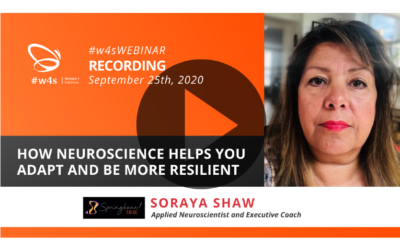 Recording #w4sWEBINAR |  How neuroscience helps you adapt and be more resilient
