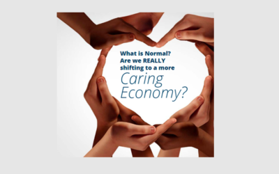 "Sharing Laura Giadorou Koch's article ""What is Normal? Are We Shifting to a Caring Economy?"""