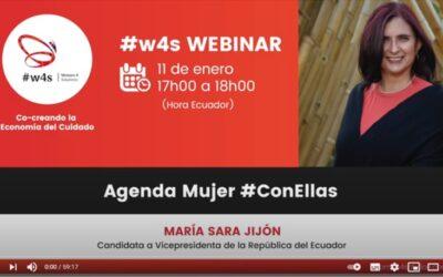 Grabación w4s WEBINAR | Presentación de la Agenda Mujer #ConElla