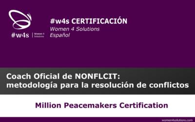 Certificación como coach Oficial de NONFLCIT: metodología para la resolución de conflictos #w4sCERTIFICACIÓN I ESPAÑOL