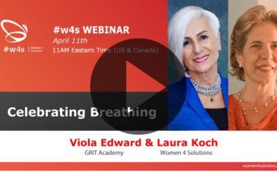 Breathing Day – Celebrating breathing! – #w4s – Women4Solutions – Webinar
