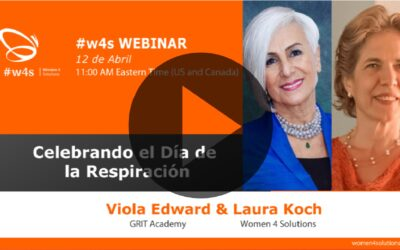 Veronique Batter, Viola Edward y Laura Giadorou Koch – Día de la Respiración – #w4s – Women4Solutions – Webinar