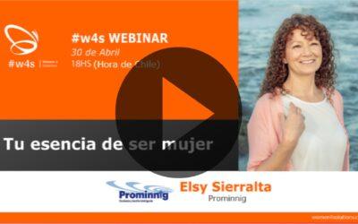 Elsy Sierralta – Tu esencia de ser mujer – #w4s – Women4Solutions – Webinar