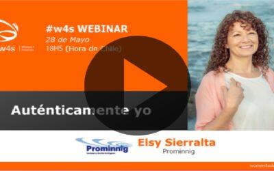 Elsy Sierralta – Auténticamente Yo – #w4s – Women4Solutions – Webinar