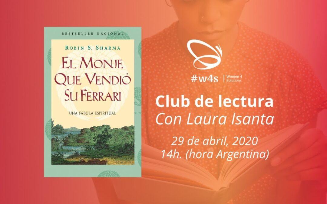 """Club de lectura – """"EL MONJE QUE VENDIÓ SU FERRARI"""" de Robin Sharma"""